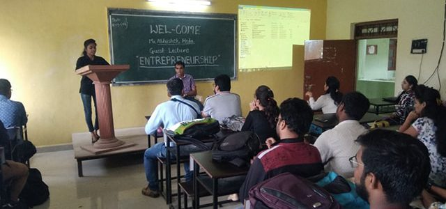 Guest Lecture on Entrepreneurship-MBA