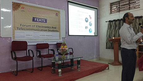 One day workshop on trends in VLSI delivered by Dr. Kishor P. Sarwadekar, dept of electronics IIT Varanasi.  On date : 24th Aug. 2015.