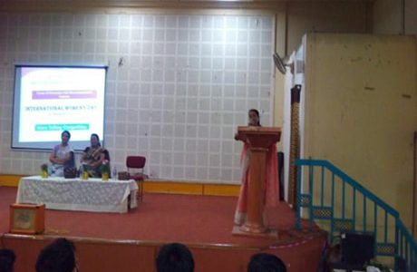 International  Woman's day  celebration 8th March 2016 Judged by: Dr. P. K. Sontake and    Dr. V. P.  Chaudhari , First year department, HVPMCOET.